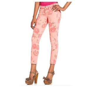 Lucky Brand Jeans Legend Skinny Cabbage Printed 6